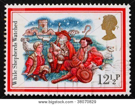 Postage Stamp Gb 1982 Three Shepherds