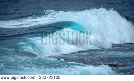 An image of a rough ocean surface background