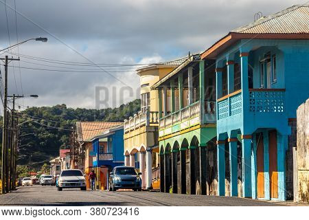 City Center Of Caribbean Town  Georgetown, Charlotte, Saint Vincent And The Grenadines