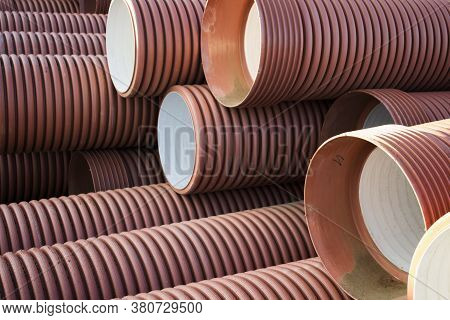 Pvc Pipe. Industrial Plastic Pipe. Plastic Pipes For Water.