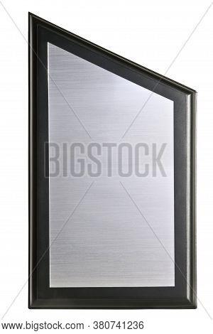 Stone Based Award On A White Background