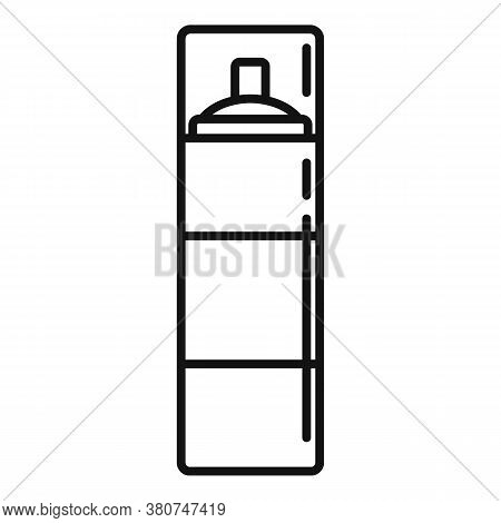Survival Spray Bottle Icon. Outline Survival Spray Bottle Vector Icon For Web Design Isolated On Whi