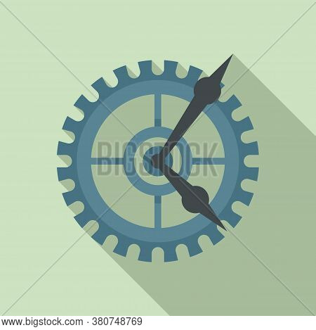 Parts Watch Repair Icon. Flat Illustration Of Parts Watch Repair Vector Icon For Web Design