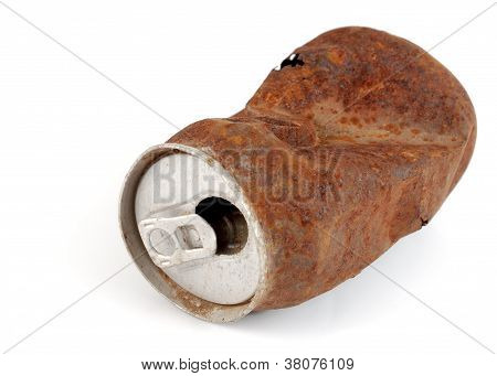 Rusty beverage can