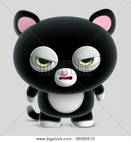 3 d cartoon cute furry hanter toy poster
