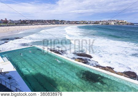 View Of Bondi Beach In Sydney, Australia