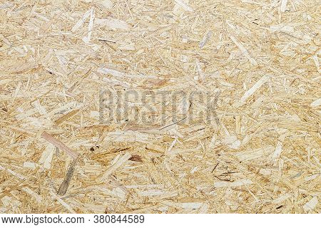 Osb Texture Of The Material - Recycled Compressed Wood Chips Plate, Plywood Texture, Close-up