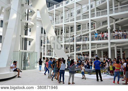 Manila, Ph - June 24 - National Museum Of Natural History Atrium Interior Design On June 24, 2018 In