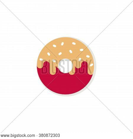 Donuts Icon Isolated On White Background. Donuts Icon. Donuts Vector. Donuts Symbol Vector. Sweet Do