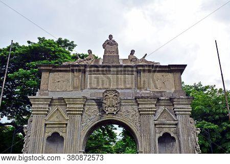 Manila, Ph - June 2 - University Of Santo Tomas Arch Of The Century On June 2, 2018 In Manila, Phili