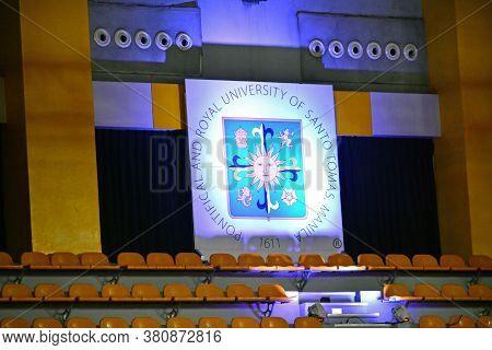 Manila, Ph - June 2 - University Of Santo Tomas Logo Seal On June 2, 2018 In Manila, Philippines.