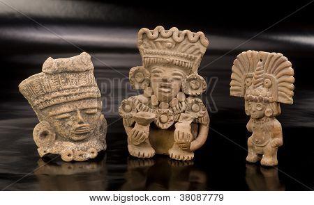 Pre Columbian Warriors.