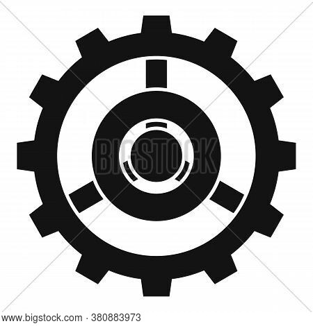Old Watch Cog Wheel Icon. Simple Illustration Of Old Watch Cog Wheel Vector Icon For Web Design Isol