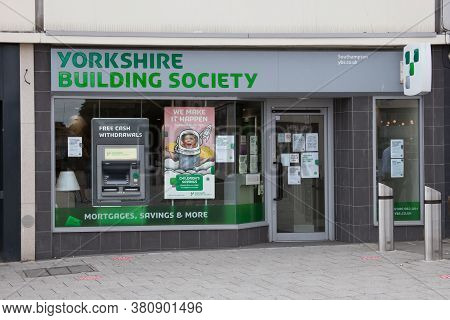 The Yorkshire Building Society In Southampton, Hampshire In The Uk, Taken 10th July 2020