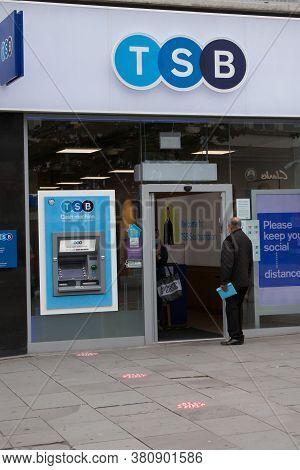 The Tsb Bank In Southampton In The Uk, Taken 10th July 2020