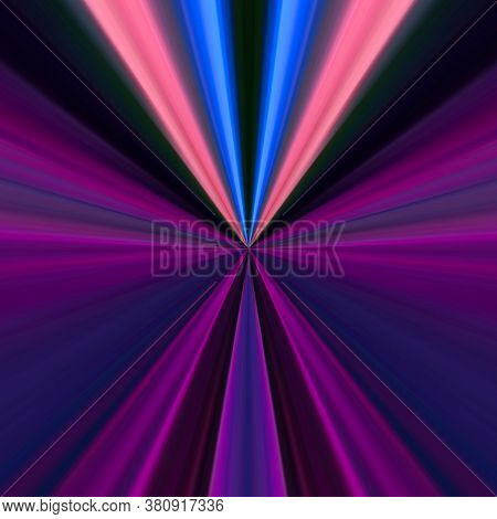 Abstract Optical Illusion Lines In Bright Colorful Background. An Illusion Art Graphic Made Up Abstr