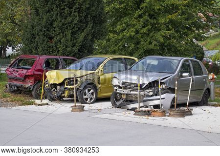 Parking For Damaged Cars After An Accident