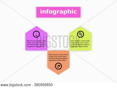 Infographics Vector Design Template Icon For Illustration. Planning Timeline Infographics Design Vec