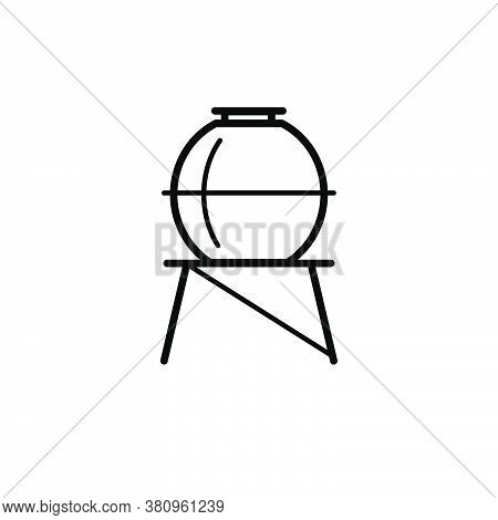 Water Reservoir Icon Design Template