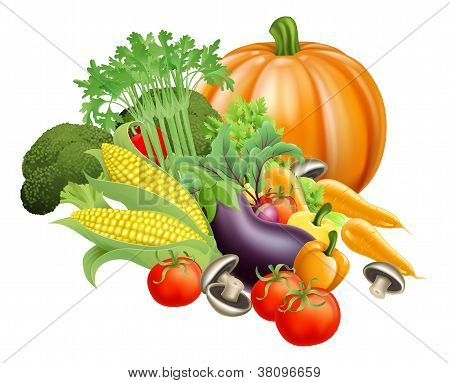 Healthy Fresh Produce Vegetables