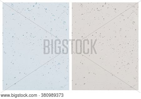 Pale Color Textured Vector Background. Light Blue And Light Gray Concrete Wall. Rough Grunge Backdro