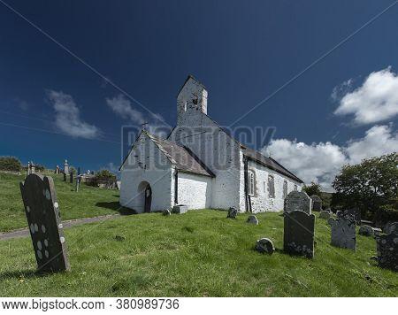 Penbryn, Ceredigion, Wales, 28th July 2020, Saint Michaels Church Exterior