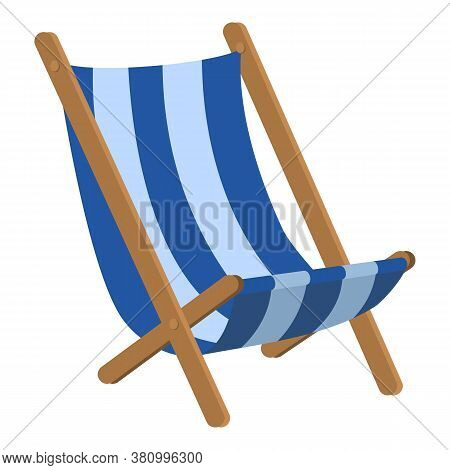 Chair Hammock Icon. Cartoon Of Chair Hammock Vector Icon For Web Design Isolated On White Background
