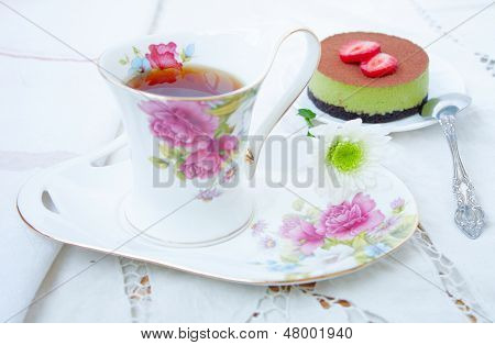 Dessert - Tea And Cake Tiramissu