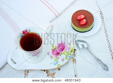 Breakfast - Tea And Cake