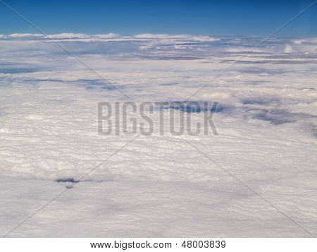 Cloudscape From Above