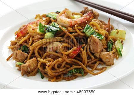 mie goreng, mi goreng, indonesian fried noodles
