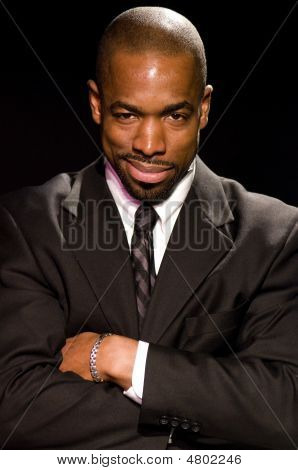Minister Beau Harris New York Schauspieler Portrait