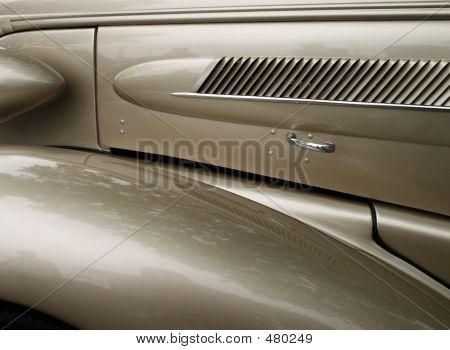 Classic Automobile  Close-up