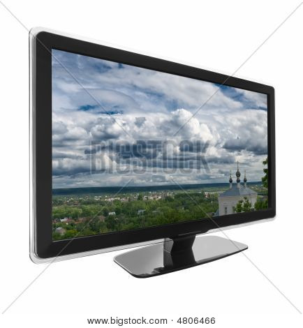 Tv With Landscape