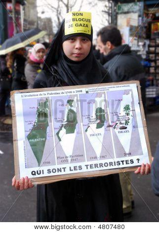 Anti-israeli Protests In Paris