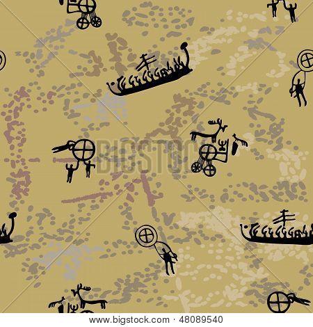 Scandinavian Rock Paintings