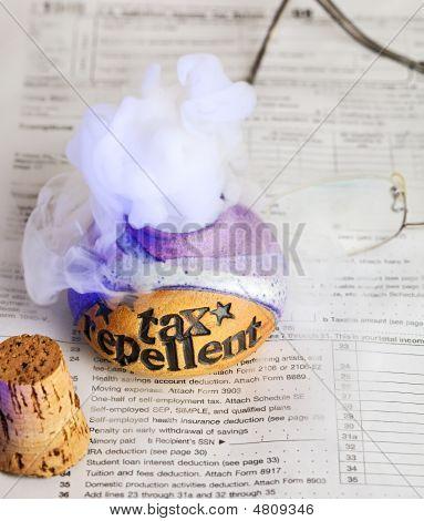 Tax Repellent Elixir Escapes