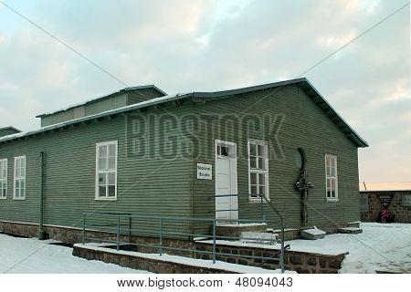 MAUTHAUSEN, AUSTRIA - DECEMBER 8, 2012: Mauthausen Concentration Camp Holocaust Memorial.
