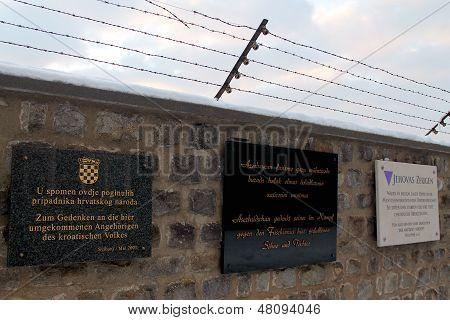 MAUTHAUSEN, AUSTRIA - DECEMBER 2012: Mauthausen Concentration Camp Holocaust Memorial.