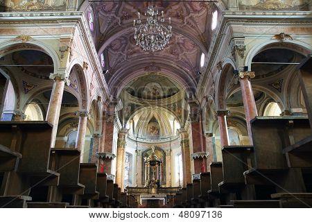 St. Antonio Abate Church Interior