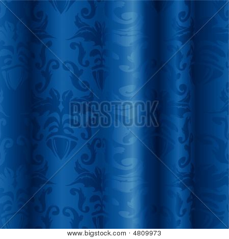 Blue Silk Pattern
