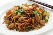 mie goreng, mi goreng, indonesian fried noodles poster