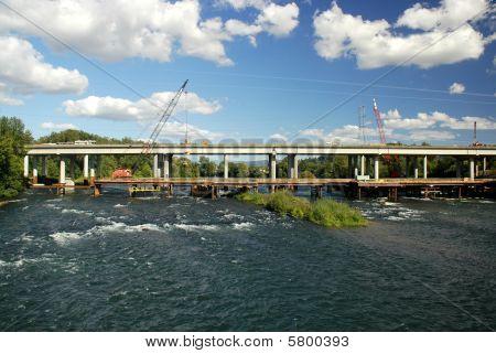 neue Brückenbau