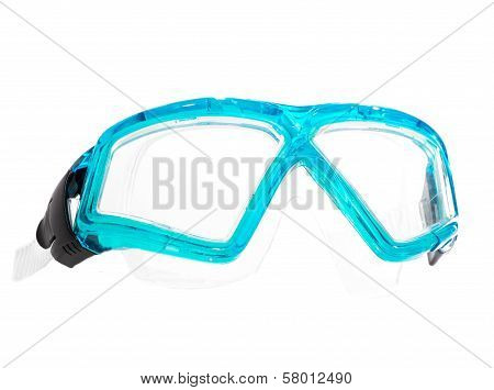Scuba Goggles Isolated on a White Background