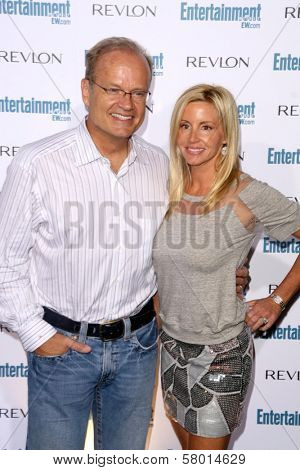 Kelsey Grammer and Camille Grammer  at Entertainment Weekly's 6th Annual Pre-Emmy Party. Beverly Hills Post Office, Beverly Hills, CA. 09-20-08