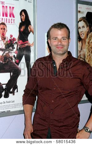 Frank Krueger  at the Los Angeles Screening of 'The Pink Conspiracy'. Laemmle Grande 4-Plex, Los Angeles, CA. 09-20-08