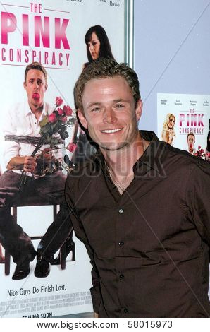 Bradley Snedeker  at the Los Angeles Screening of 'The Pink Conspiracy'. Laemmle Grande 4-Plex, Los Angeles, CA. 09-20-08
