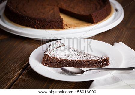 Homemade Chocolate Blackout Cake