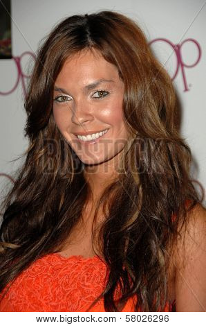 Jasmine Dustin  at the OP Clothing Launch Party. Private Residence, Beverly Hills, CA. 06-03-08