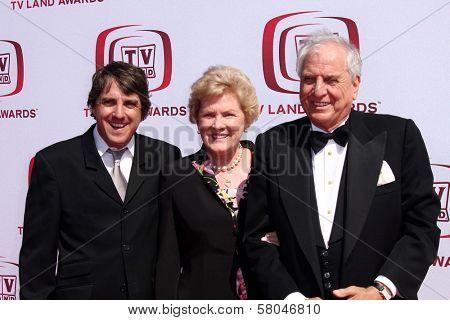 Scott Marshall with Barbara Marshall and Garry Marshall  at The 6th Annual 'TV Land Awards'. Barker Hangar, Santa Monica, CA. 06-08-08